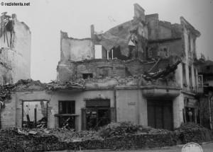 Cladire distrusa la cutremurul 1977
