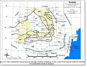 Harta cu presiunea vantului