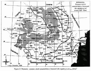 harta zonare zapada