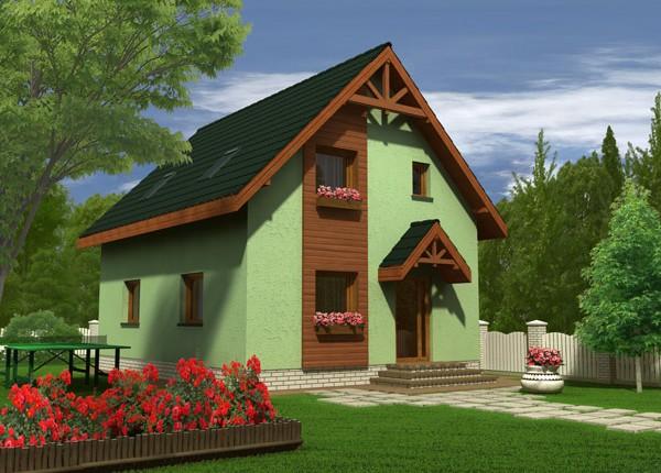 Vila Alexandra, caminul ideal pentru cei care isi doresc o constructie ieftina